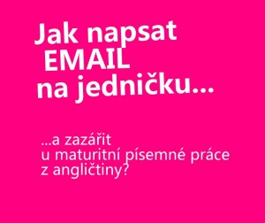 email-anglicky